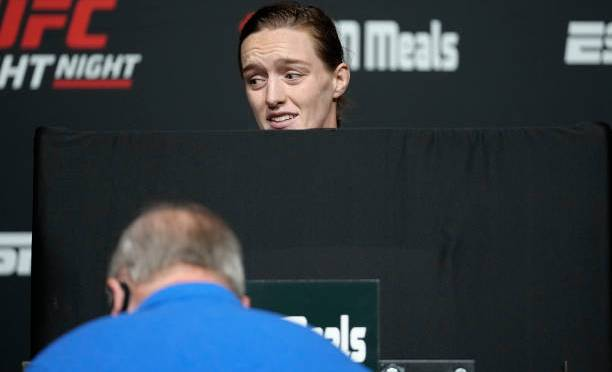 UFC setting a bad example with Aspen Ladd main event spot